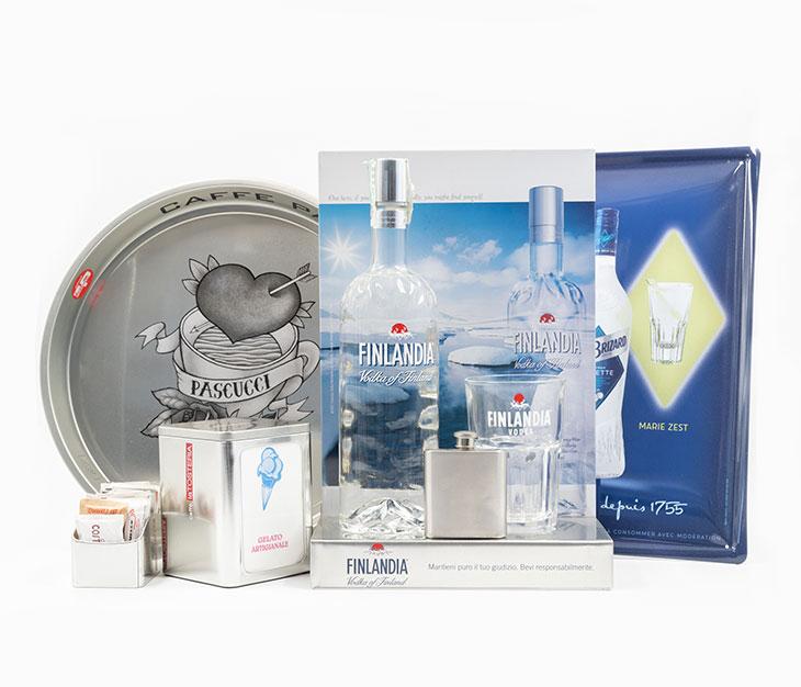 Finlandia Classic vodka Merchandising