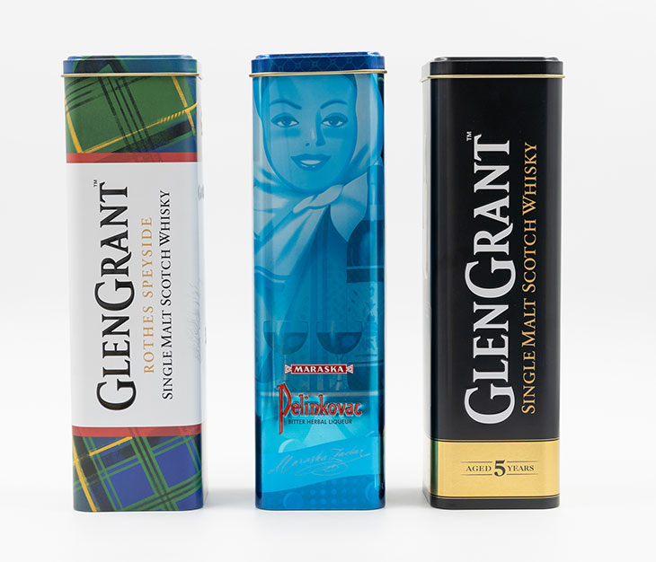 Tubi per Pelinkovac & GlenGrant Scotch Whisky